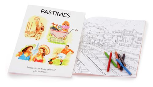 Picture of Reminiscence Picture Book - Pastimes