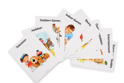 Picture of Reminiscence Conversation Cards - Pastimes