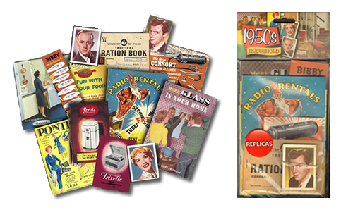 Picture of Memorabilia Pack - 1950s Household