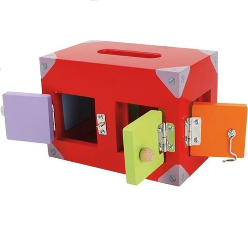 Picture of Locks and Latches Post Box