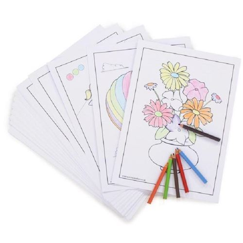 Picture of Colouring Cards (pack 50)
