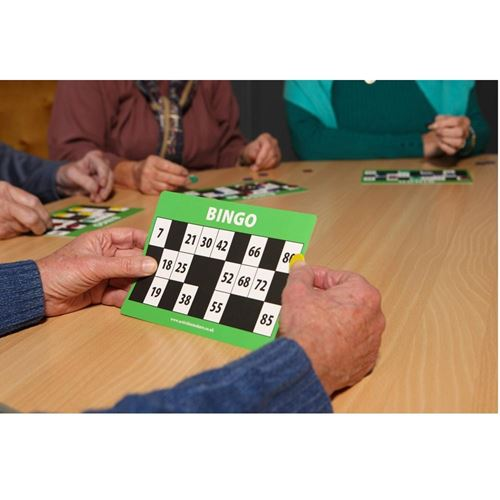 Picture of Large Print Bingo Cards and Counters©
