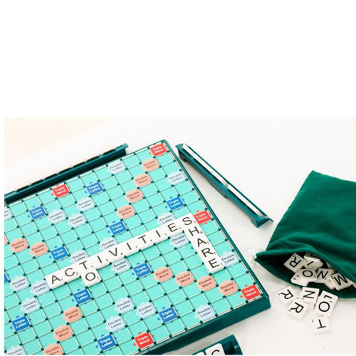 Large Print Scrabble with easy to use tiles