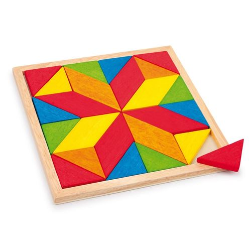Picture of Mosaic Square Puzzle
