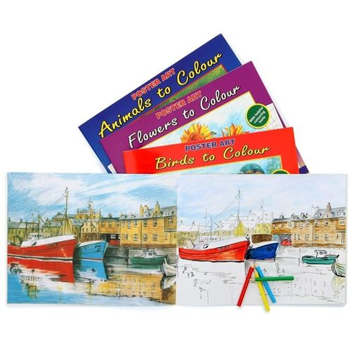 Picture of Colouring Books for Adults - Nature (set of 12)