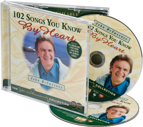 Activities to Share - John McSweeney 102 Songs You Know by Heart Karaoke CD Set