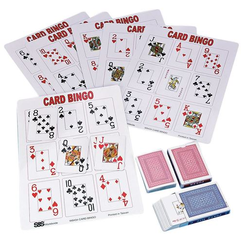 Picture of Playing Card Bingo Game