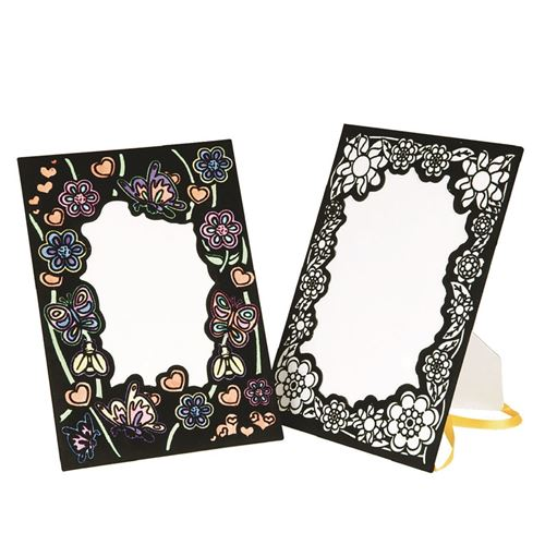 Picture of Velvet Photo Frames (pack of 12)