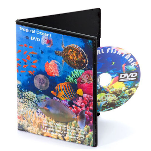 Tropical Oceans DVD, seven scenes and eight sound effects to choose from, great for care homes relaxation classes hospitals