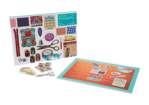 Picture of Creative Scenes 15 pce Magnetic Puzzle - The Sewing Box