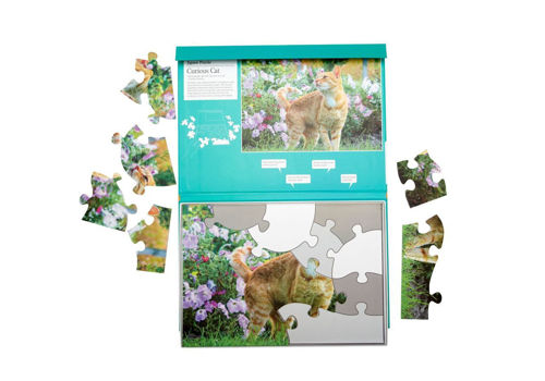 Picture of 13 Large piece plastic puzzle - Curious Cat