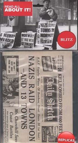 Picture of Newspaper - London Blitz 1940