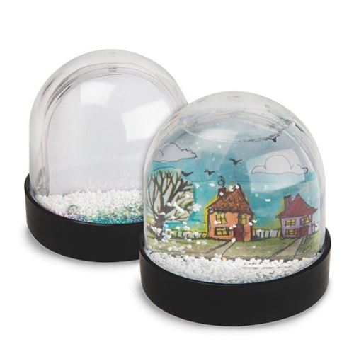 Picture of Colour Me Snow Globes (makes 12)