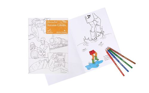 Picture of Colouring Book - Autumn