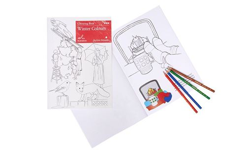 Picture of Colouring Book - Winter