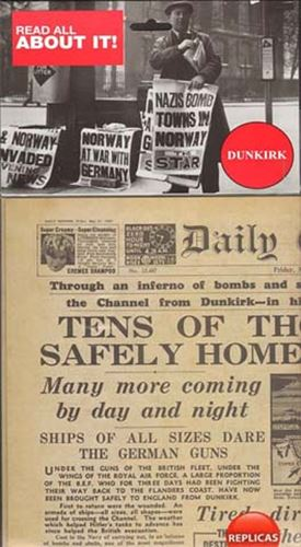Picture of Newspaper - Dunkirk 1940