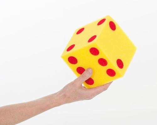 Picture of Giant Foam Dice (pack of 2)