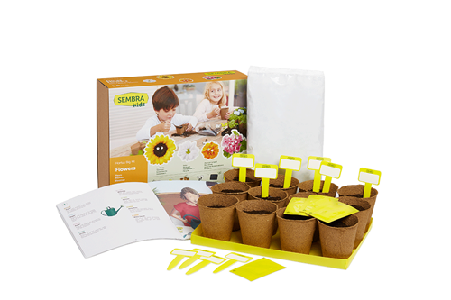 Picture of Summer Flower Grow Kits (makes 30)