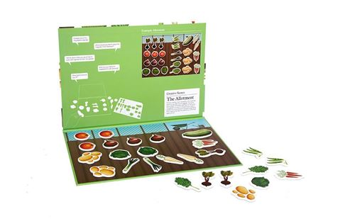 Picture of Creative Scenes - 26 pce Allotment Magnetic Puzzle