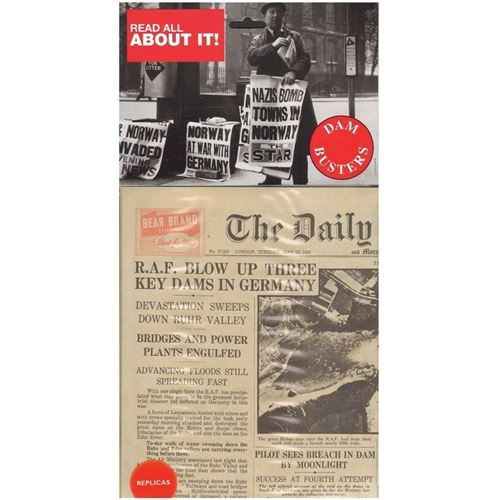 Picture of Newspaper - Dambusters 1943
