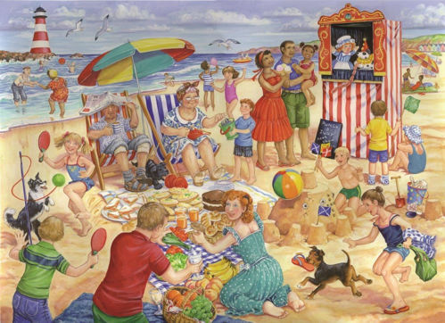Picture of 250 Large Piece Puzzle - Trip to the Seaside