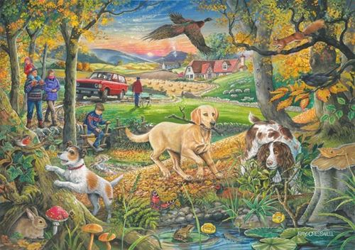 Picture of 250 Large Piece Puzzle - Evening Walk