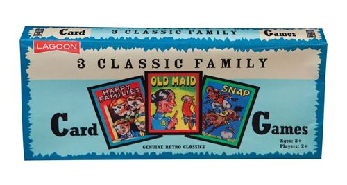 Picture of Classic Family Card Games (pack of 3)