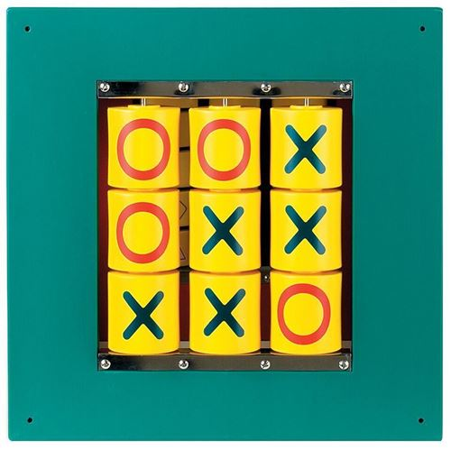 Picture of Noughts and Crosses Wall Puzzle