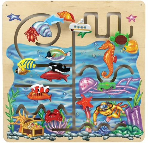 Picture of Sea Life Activity Wall Panel