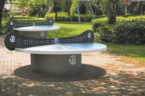 Picture of T3 Ping Pong Tournament Concrete Table