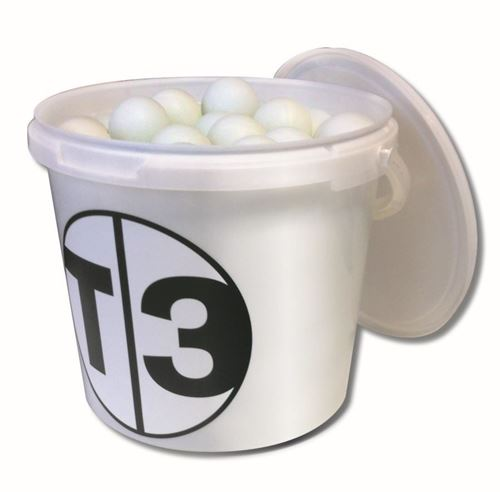 Picture of T3 Bucket of Balls White
