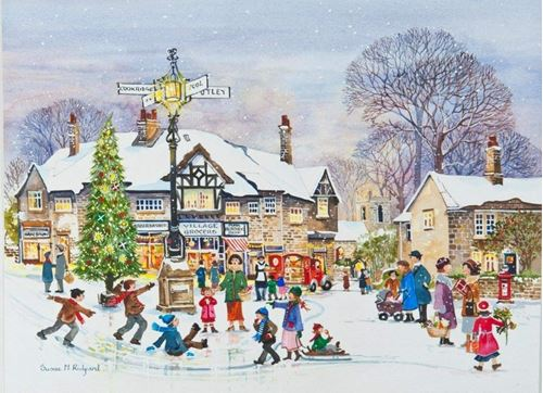 Picture of 250 Large Piece Puzzle - Winter Fun