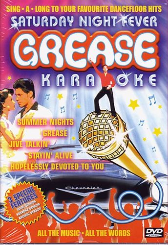 Picture of Grease/Saturday Night Fever Karaoke DVD