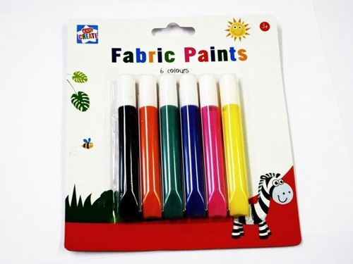 Picture of Fabric Paint (Pack of 6)