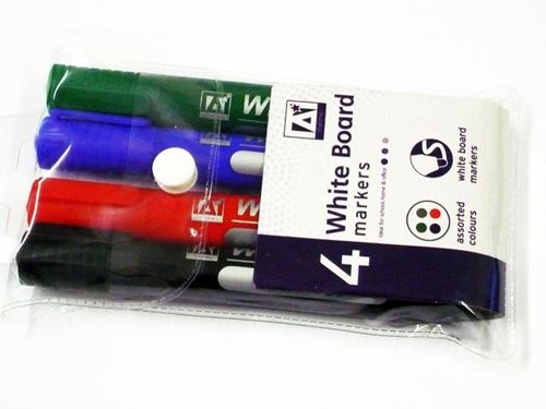 Picture of White Board Markers (Pack of 4)