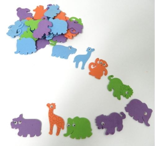 Picture of Foam Jungle Animals (Pack of 50)
