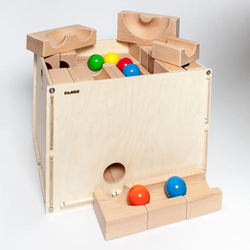 Picture of Deluxe Wooden Ball Track With Case XL (62 Piece)