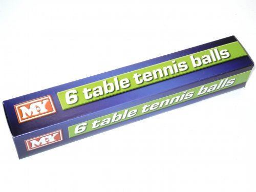 Picture of Table Tennis Balls (Pack of 6)