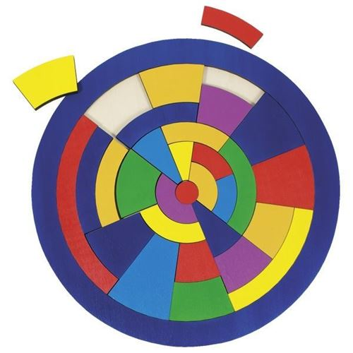 Picture of Mosaic Circle Puzzle