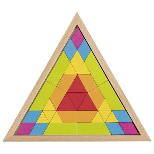 Picture of Mosaic Triangle Puzzle