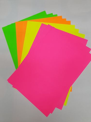Picture of Neon Card A4 (12 Asstd Colours)