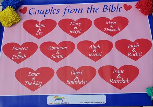 Picture of Christian Couples Floor Mat