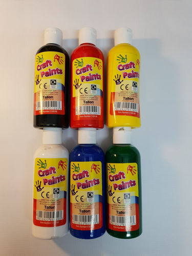 Picture of Poster Paints (Pack of 6 Assorted)