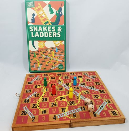 Picture of Traditional  Snakes and Ladders