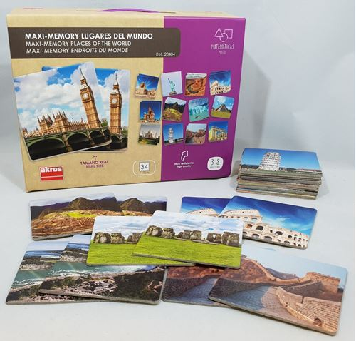 Picture of Maxi Memory - Places of the World