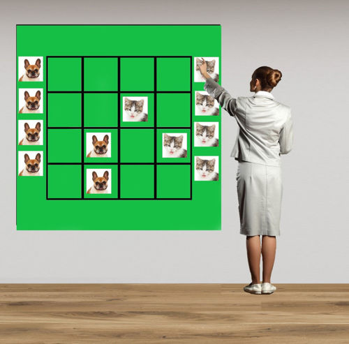Picture of Magnetic Wall Game - Cats and Dogs