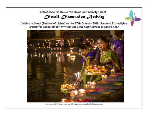 Picture of Diwali Discussion Activity