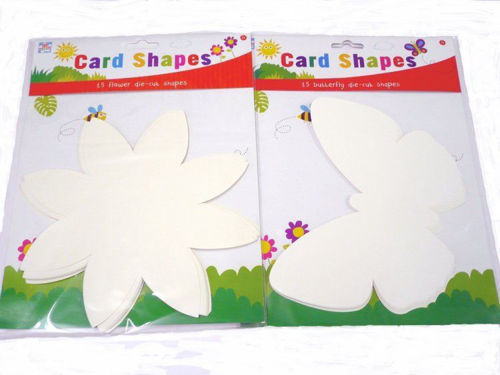 Picture of Collage Shapes - Flowers and Butterflies (pack of 30)