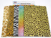 Picture of Animal Print Card and Shapes (Pack of 12)