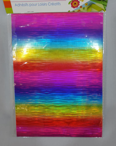 Picture of Adhesive A5 Rainbow Sheet